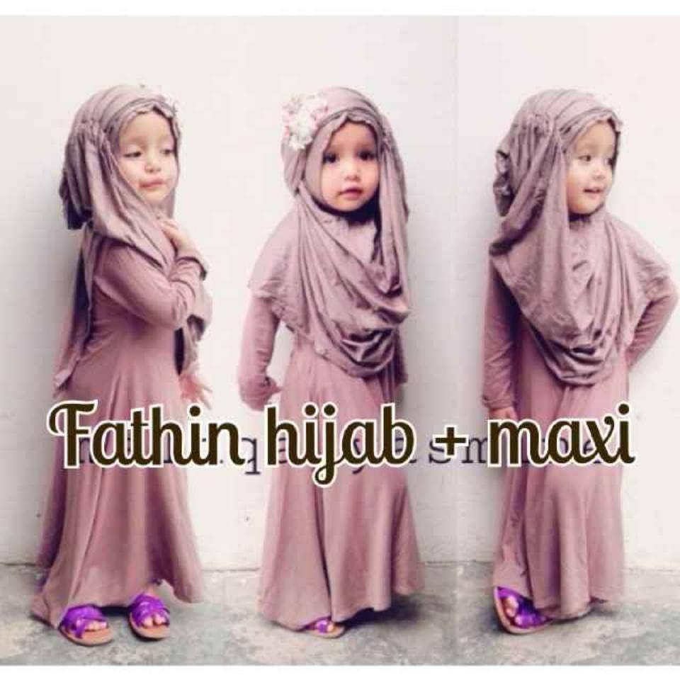 Fatin Kids Hijab Baju Muslim Anak Murah Dan Gaul Butik