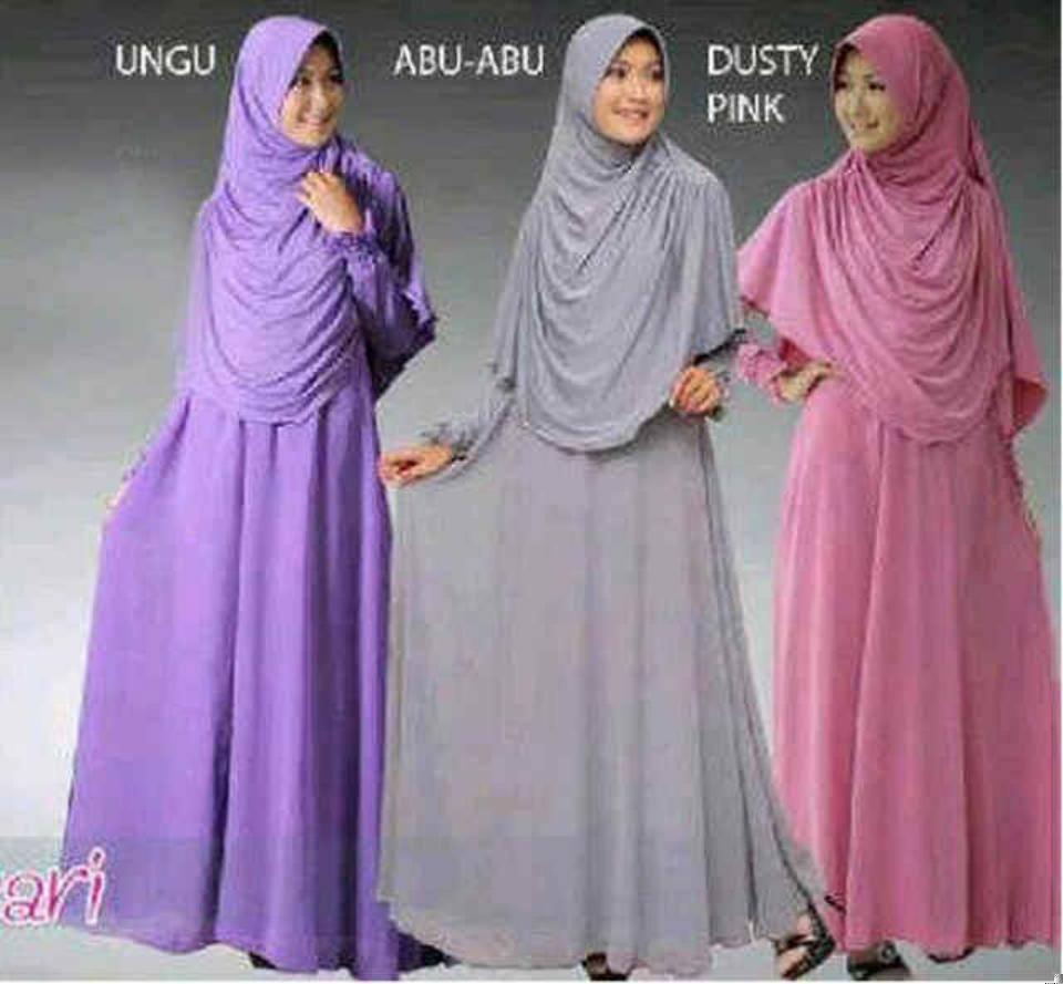 Contoh Baju Gamis Muslim Untuk Santai Trend Terbaru