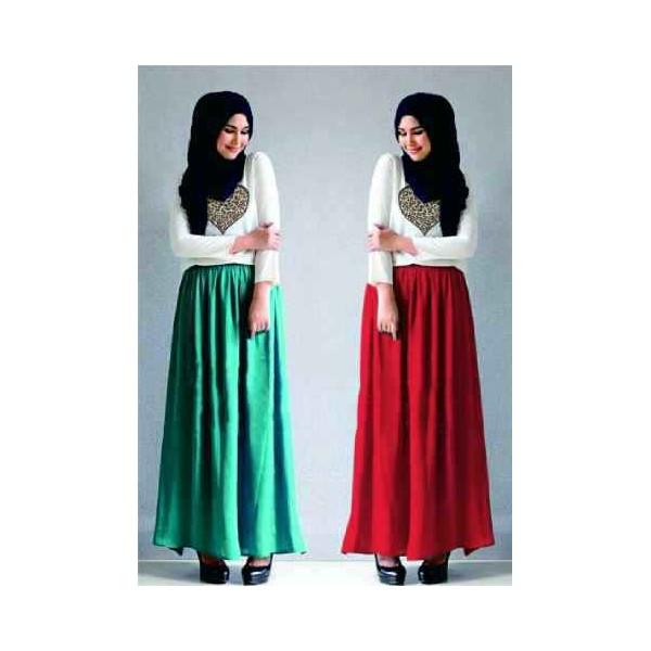 Kayra maxi gamis modern anak muda butik destira Baju gamis anak muda