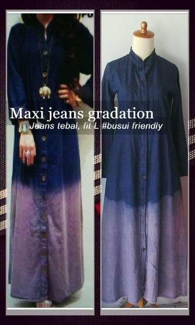 Maxi Jeans Gradation