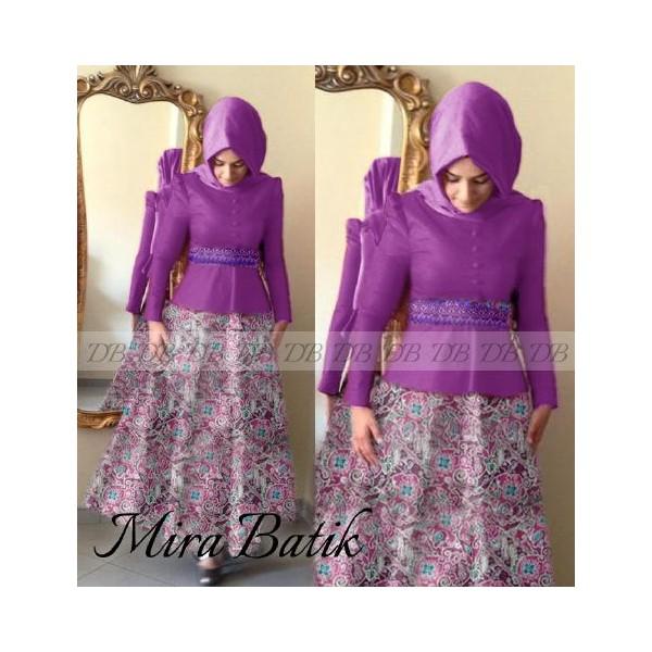 Maxi Mira Batik Warna Dan Motif Batik Pesta Terbaru 2015