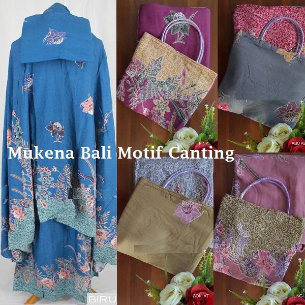 Mukena Bali Motif Canting