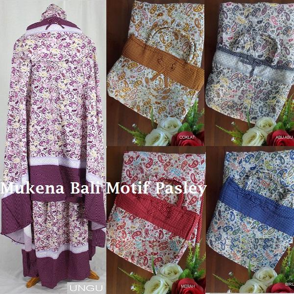Mukena Bali Motif Pasley