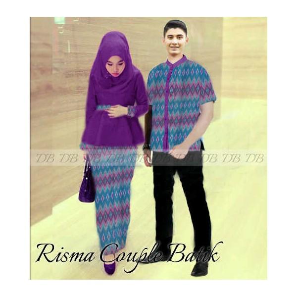kebaya Risma batik @205rb, katun halus import komb songket batik ...