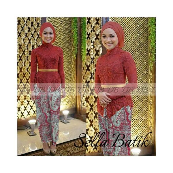 Maxi Kebaya modern Sella batik | Butik Destira