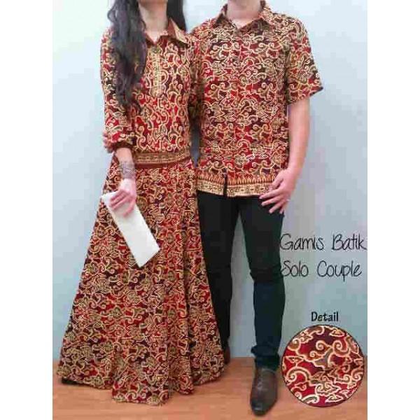 Cardigan batik cantik orange bb grosir baju surabaya Baju gamis couple online