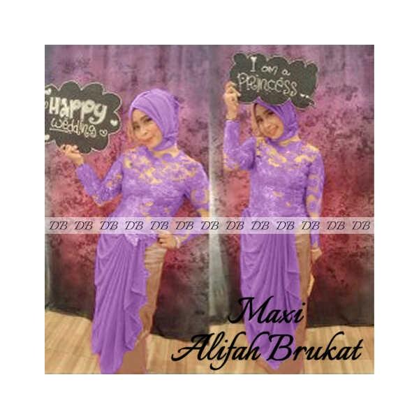 Maxi-ALifah-Brukat-ungu