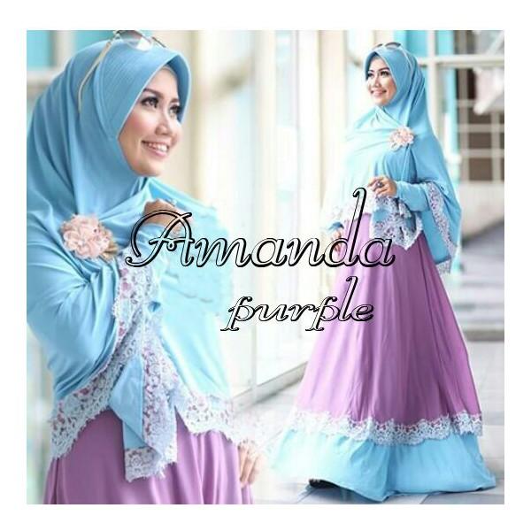 Amanda-Syari-Purple