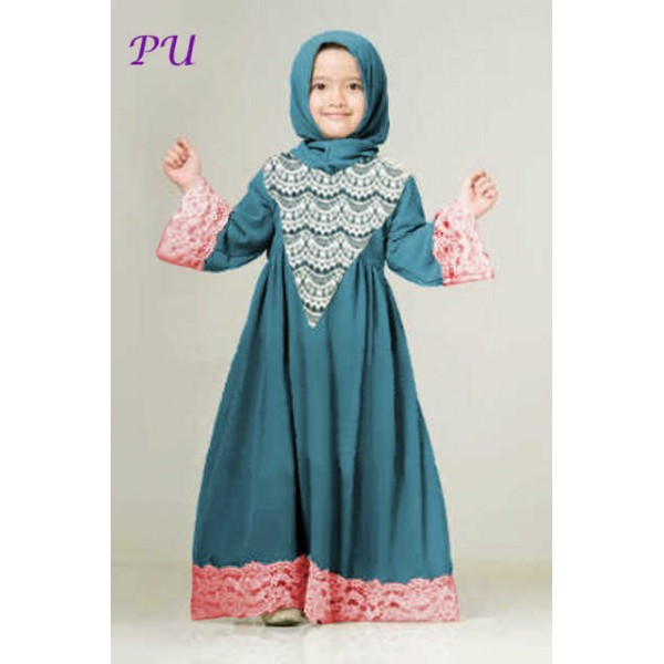 Baju Gamis Anak Umur 2thn Hijab Nemo