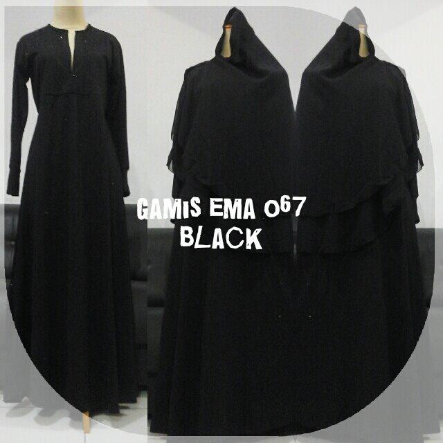 gamis-ema-067-black