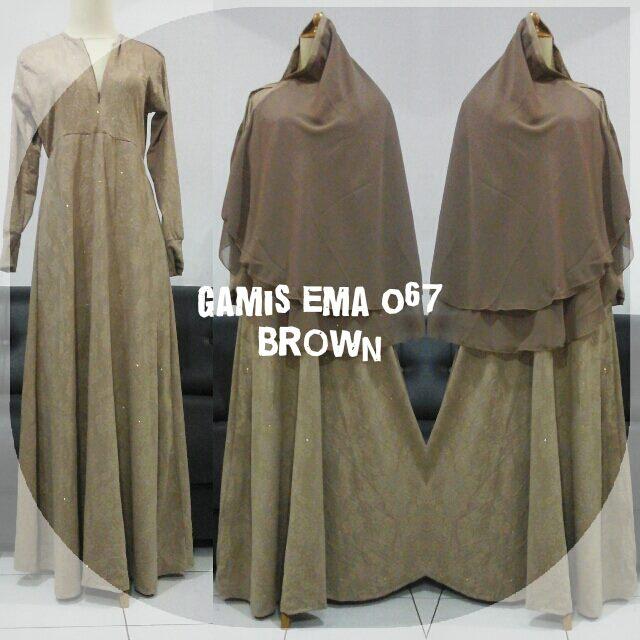 gamis-ema-067-brown