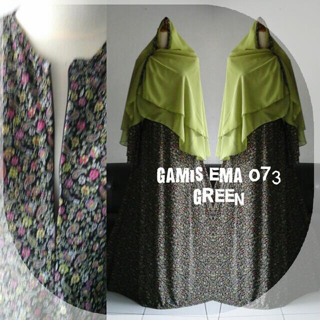 Gamis-EMa-073-green