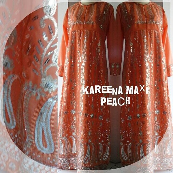 Kareena-Maxi=Peach