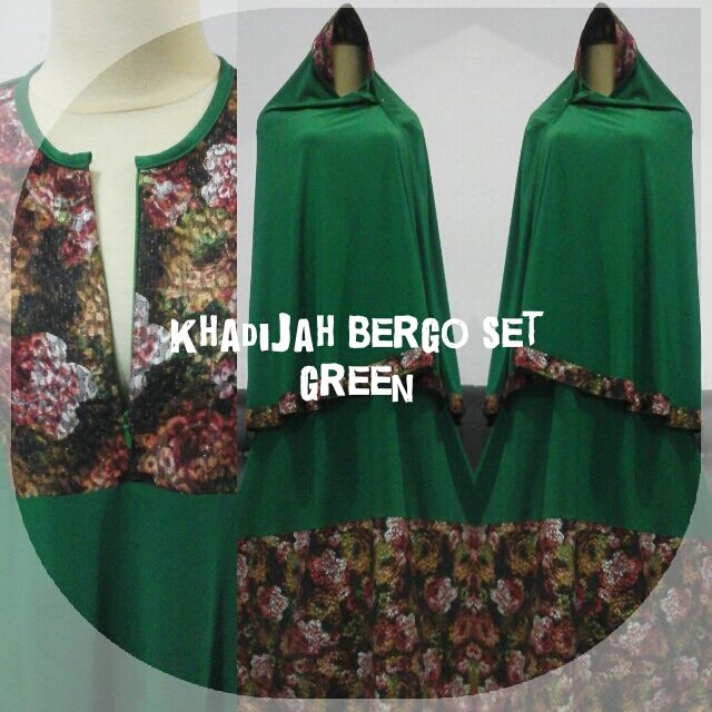 Khadijah-Bergo-Set-Green