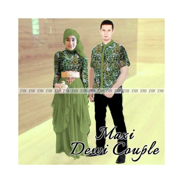 maxi-dewi-couple-batik-hijau