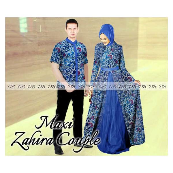Couple Maxi Zahirah Cantik Dan Elegan Buat Muslimah Butik Destira