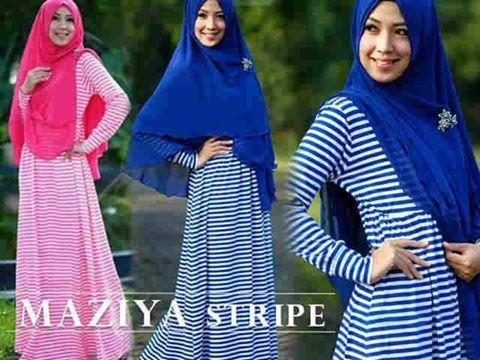 Maziya-Stripe-Syari-Bergo-Set