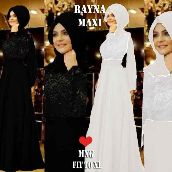 rayna-maxi-hitam-putih