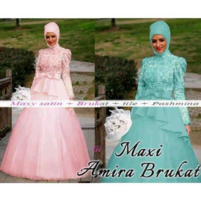 Maxi-Amira-Brukat-Pastel