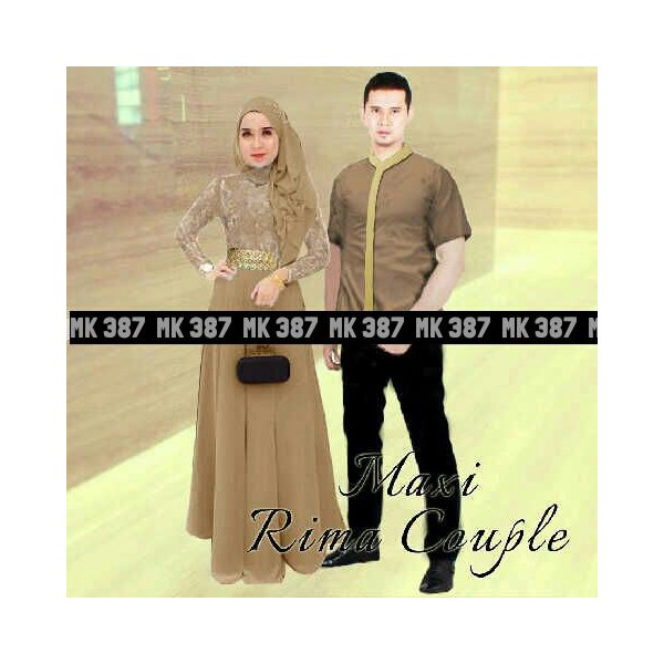 Maxi-Rima-Couple-Coklat