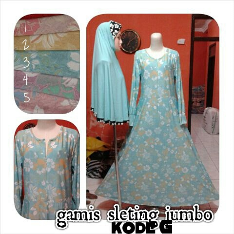 Gamis-Sleting-Jumbo-Kode-G