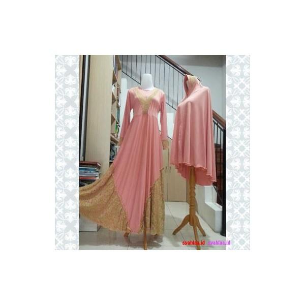 Gamis-Syari-sahara-dusty-pink
