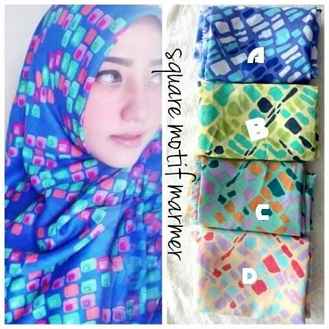 jilbab-rawis-square-motif-terbaru