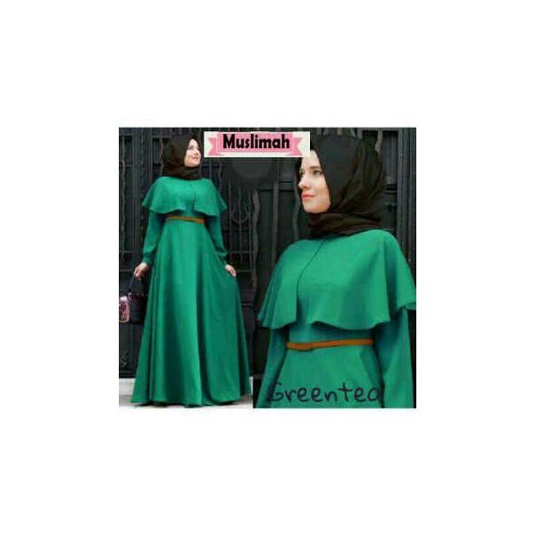 Muslimah-Greentea-maxi-cape