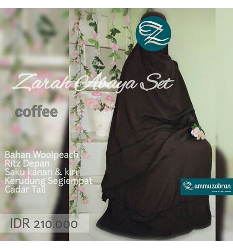 Zarah-Abaya-Set-Coffee