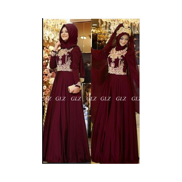 baju-pesta-evelyn-maroon