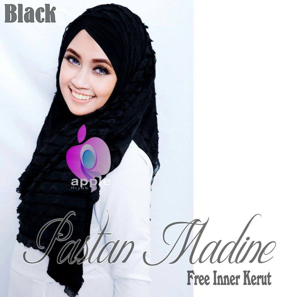 Pastan-Madine-ORIGINAL-Apple-Hijab-black