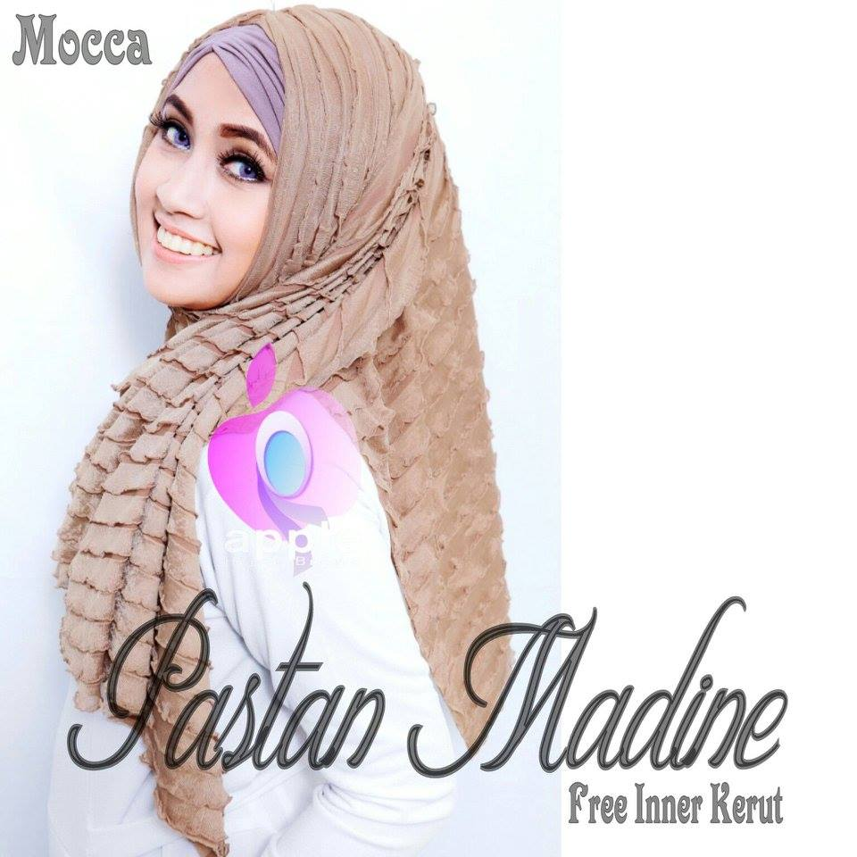 Pastan-Madine-ORIGINAL-Apple-Hijab-mocca
