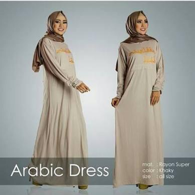 gamis-arabic-dress-khaki