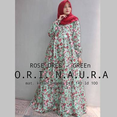 Rose-Dress-Green
