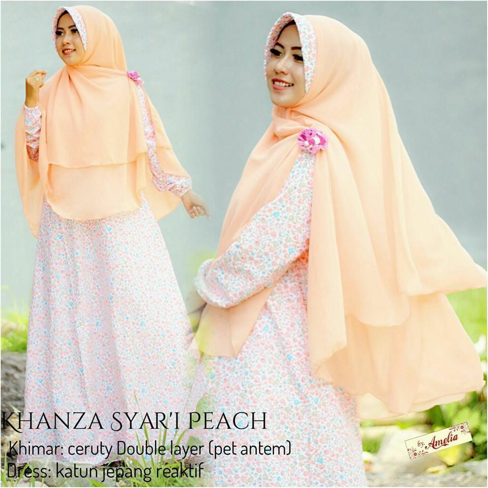 Khanza-Syari-peach-by-amelia