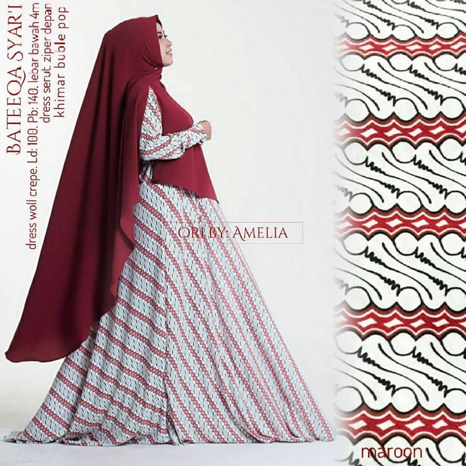 bateeqa-syari-maroon