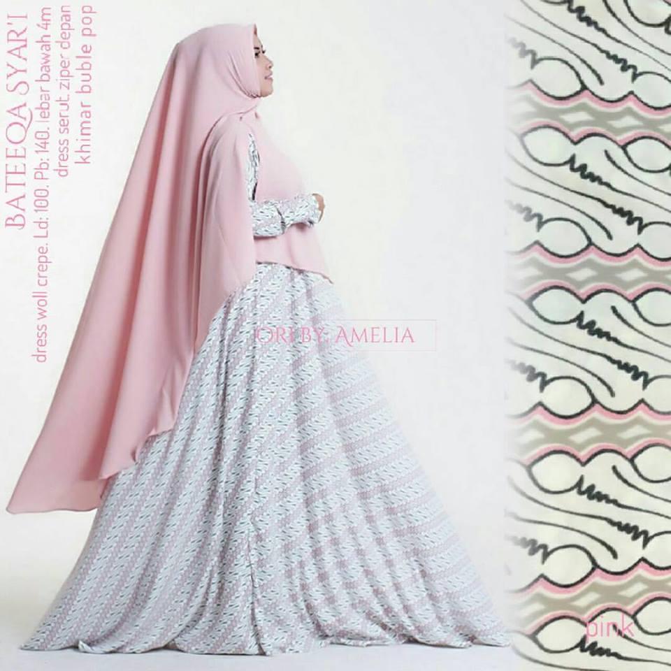 bateeqa-syari-pink