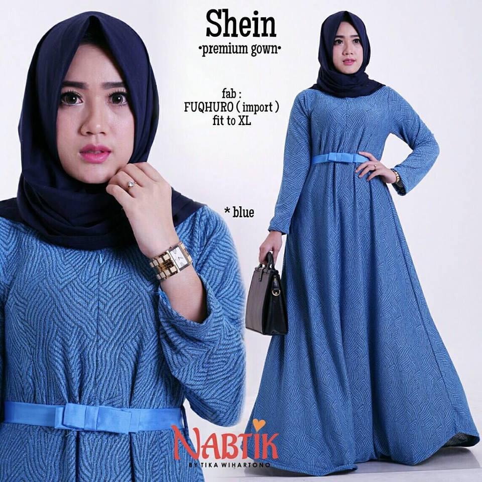 shein-premium-gown-blue