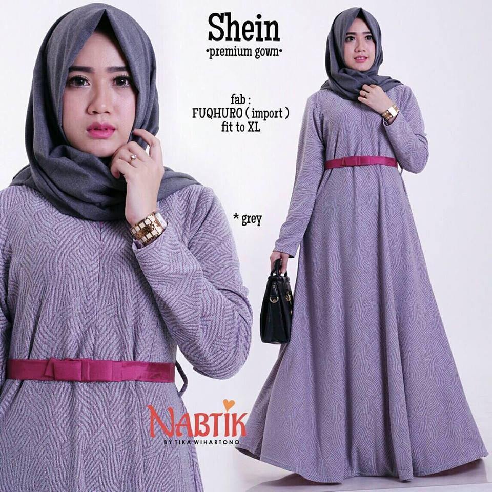 shein-premium-gown-gray