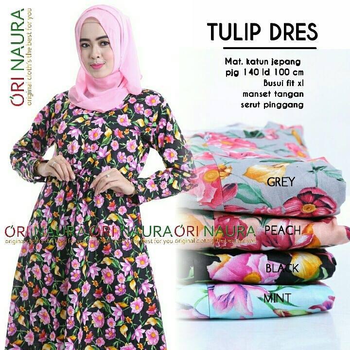 tulip-dress-black