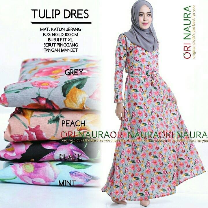tulip-dress-gray