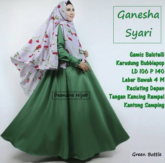 ganesha-syari-green