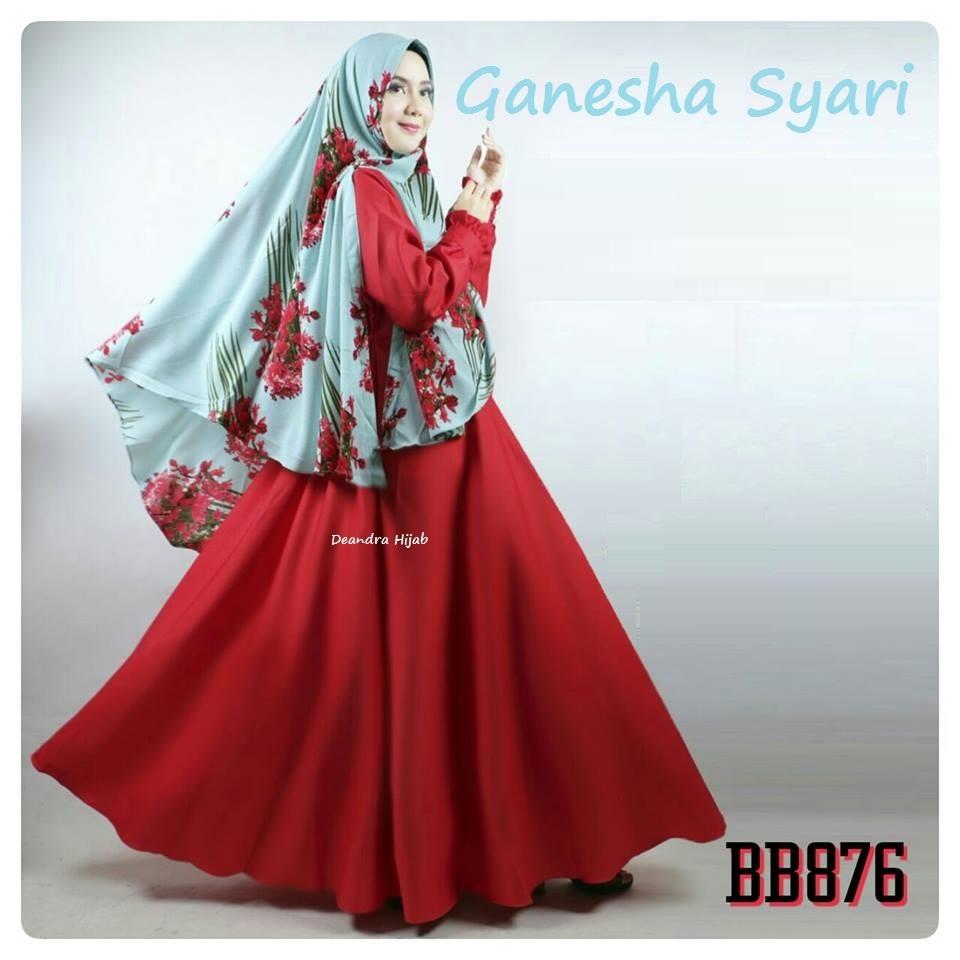 ganesha-syari-red