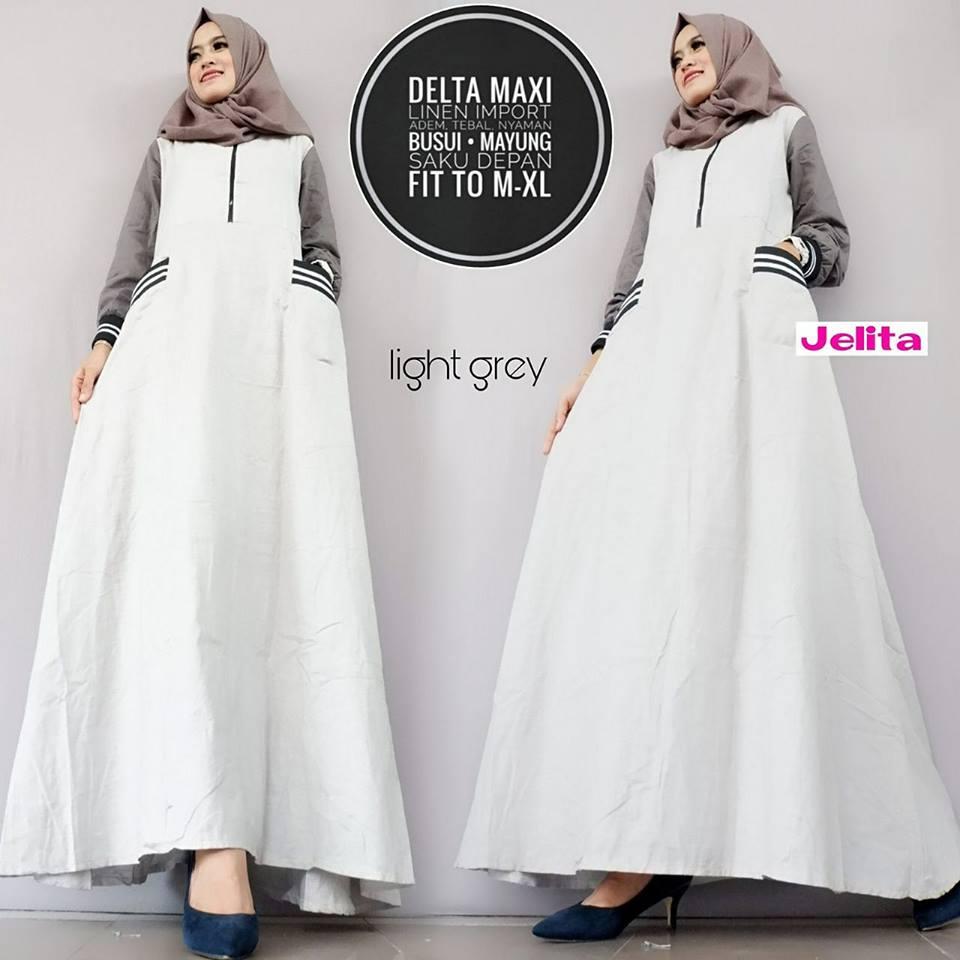 Delta Maxy Mermaid dress#6 Square Maxi Jeany Maxy by Jelita