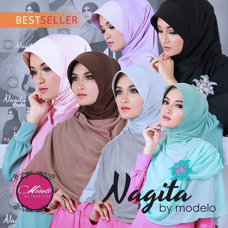 Nagita Jersey Mix Ceruty by Modelo