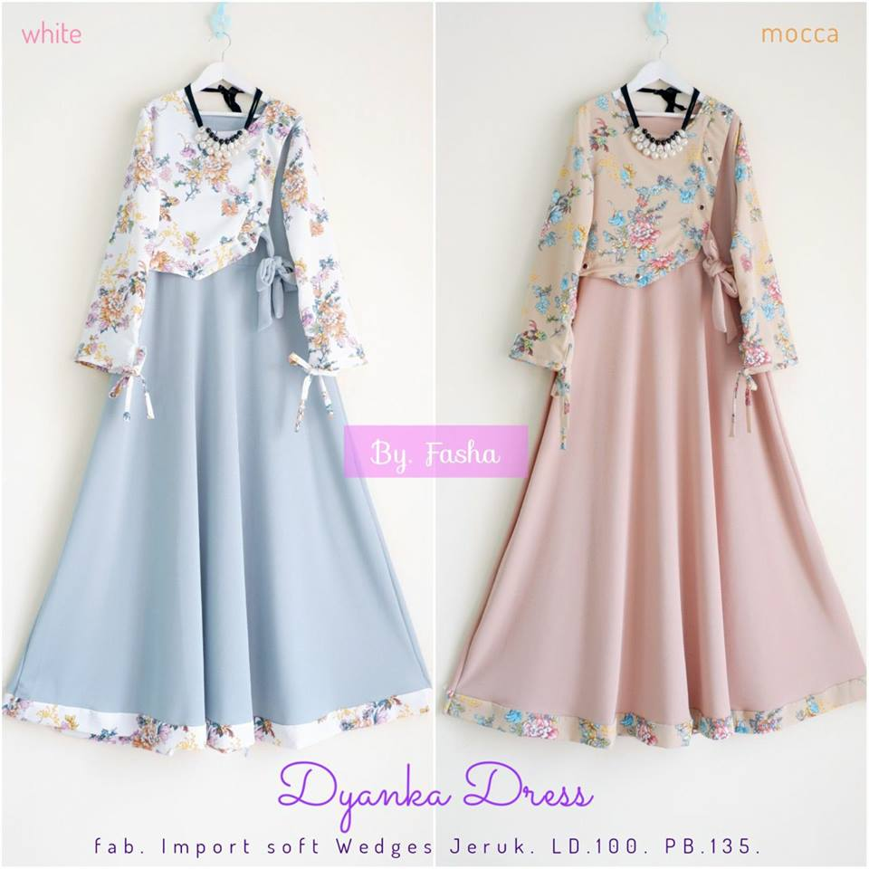 Dyanka Dress Lydia Tunik by Fasha Hijab