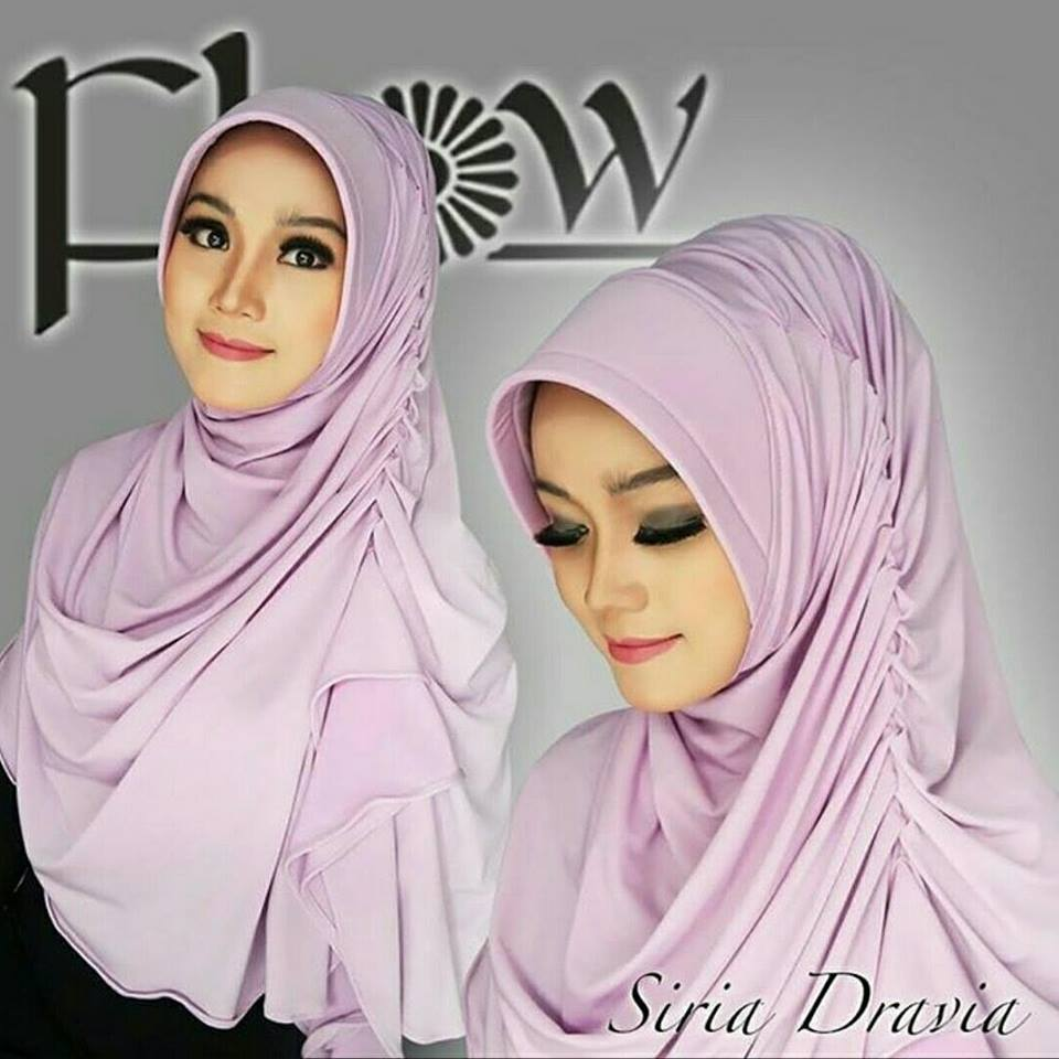 Siria Dravia Bahan Jersey Super by Flow Idea