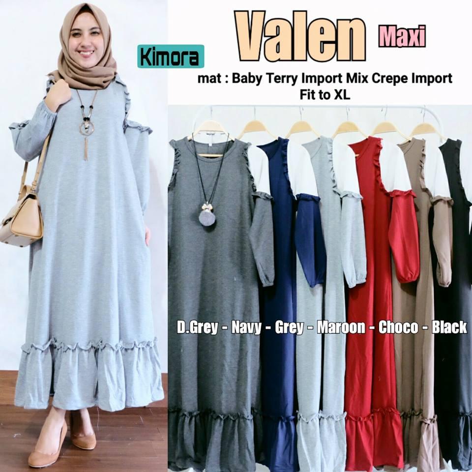 Valen Maxi Saphora dress Mima dress by Mamachi