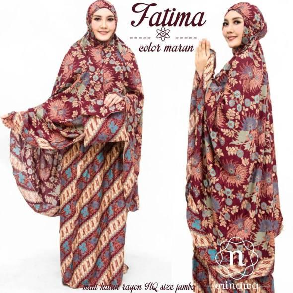 Mukena Fatima Katun Rayon by Orinawa
